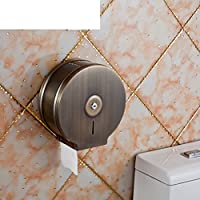 market-fのバスルームのステンレススチールトイレロールホルダー/トイレペーパーシェルフ/ Largeロール紙ティッシュボックス/ホルダー/ティッシュボックス