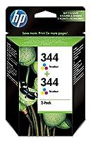 Ink Tri-Color 14 ml. 2-Pack