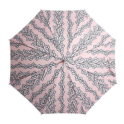 小川(Ogawa) ショートスライド晴雨兼用長傘 手開き 50cm korko コルコ グローイング UV加工 遮熱遮光加工 はっ水 木の手元 シリコンの滑り止め付 81087