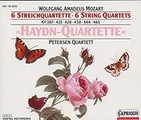 モーツァルト:6つの弦楽四重奏曲第14番 - 第19番「ハイドン四重奏曲集」