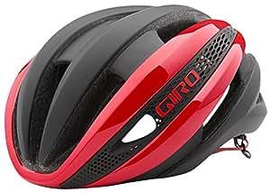 GIRO(ジロ) 自転車 ヘルメット SYNTHE シンセ Red/Matte Black レッド×マットブラック L 7054514
