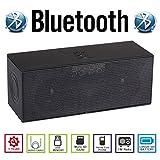 AGM Bluetooth スピーカー HIFI 3D 2.2CH ステレオ YOUTUBE視聴可 低音専用ウーハー装備 クリアーサウンド ( FMラジオ ) ( ハンズフリー テレホン ) (LINE IN ) (USBメモリー ) ( MICRO SD ) 安心の基本機能一年メーカー保証 日本語説明書付 ML58U (ブラック)