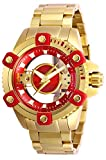 Invicta メンズ DCコミックス 機械式腕時計 ステンレススチールベルト ゴールド 24 (モデル:26843)