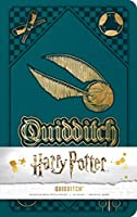 Harry Potter: Quidditch Hardcover Ruled Journal (Harry Potter Journals)
