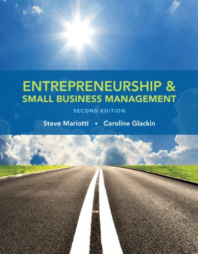 Download Entrepreneurship and Small Business Management (2nd Edition) 0133767183