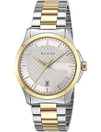 [グッチ]GUCCI 腕時計 Gタイムレス シルバー文字盤 YA126474 メンズ 【並行輸入品】