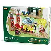 BRIO 33008 Wooden Railway Zoo Garden Set by Brio [並行輸入品]