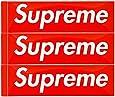 Supreme シュプリーム Box Logo Sticker 3P PACK SET ボックスロゴ ステッカー 3枚セット
