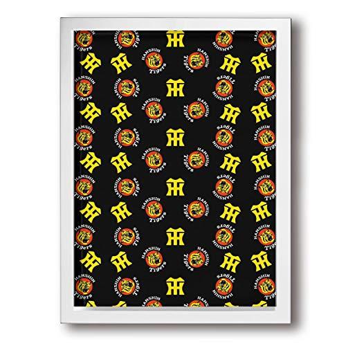 阪神タイガース 額の枠 壁の絵 装飾画 ポスター 壁掛け アートパネル インテリア 軽くて取り付けやすい 居間 モダン 玄関 木製 30x40cm