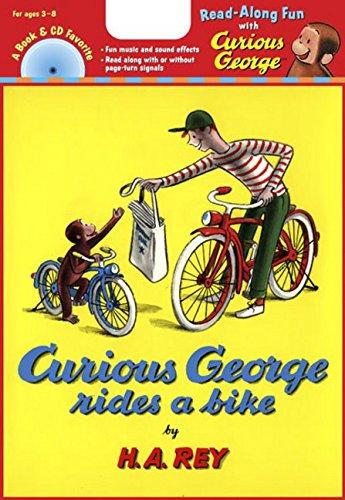 Curious George Rides a Bike Book & CD