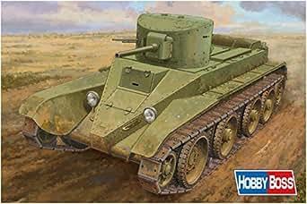 ホビーボス 1/35 ファイティングヴィークルシリーズ ソビエト BT-2 快速戦車 中期型 プラモデル 84515