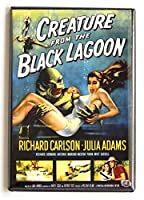 Creature from the Black Lagoon Movie Poster Fridge Magnet (2 x 3 inches) by Blue Crab Magnets