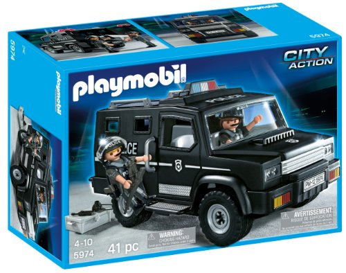 Playmobil police unit car