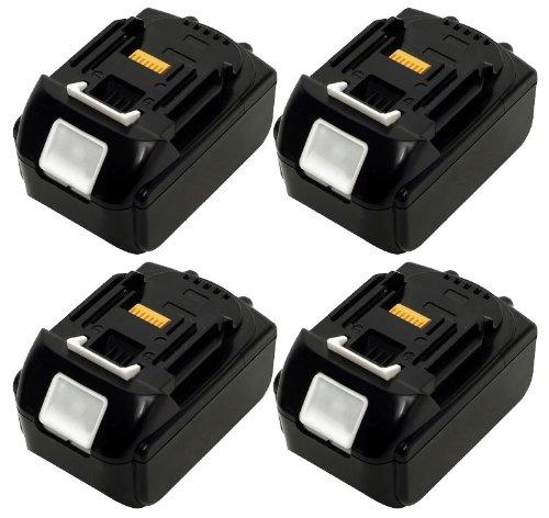 makita マキタ BL-1830 互換 18V 3000mAh 3A リチウム イオン 電池 バッテリー 交換 4個1セット