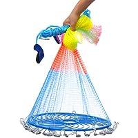 KING DO WAY 新型 投網 漁具 螺旋式 仕掛け網 釣り網 投げ網 海 川 湖 海 磯などで お魚キラー 小魚 大漁捕穫 [翌日配送]