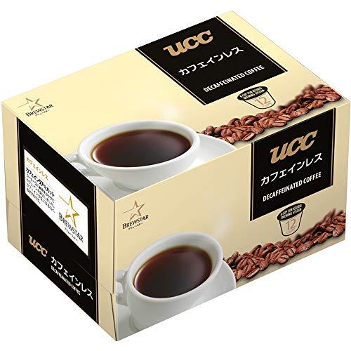 Kカップ UCC カフェインレス 1箱(12個)