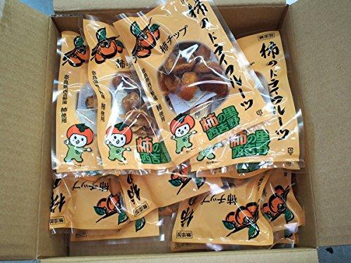 奈良県産 柿のドライフルーツ 50gパック (50g入り×20袋/箱)