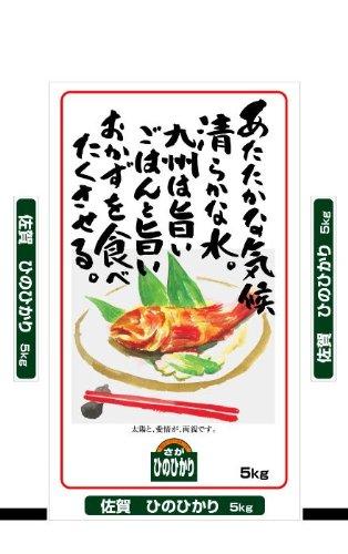 【精米】佐賀県産 白米 ひのひかり 5kg 平成28年産