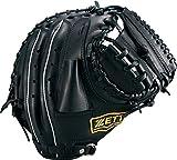 ZETT(ゼット) 少年野球 軟式 キャッチャー ミット グランドヒーロー (右投げ用) BJCB71712 ブラック