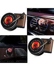 Symboat アロマバーナー 車の香りディフューザーベントクリップ空気ベント香りヴィンテージレコードプレーヤーの装飾