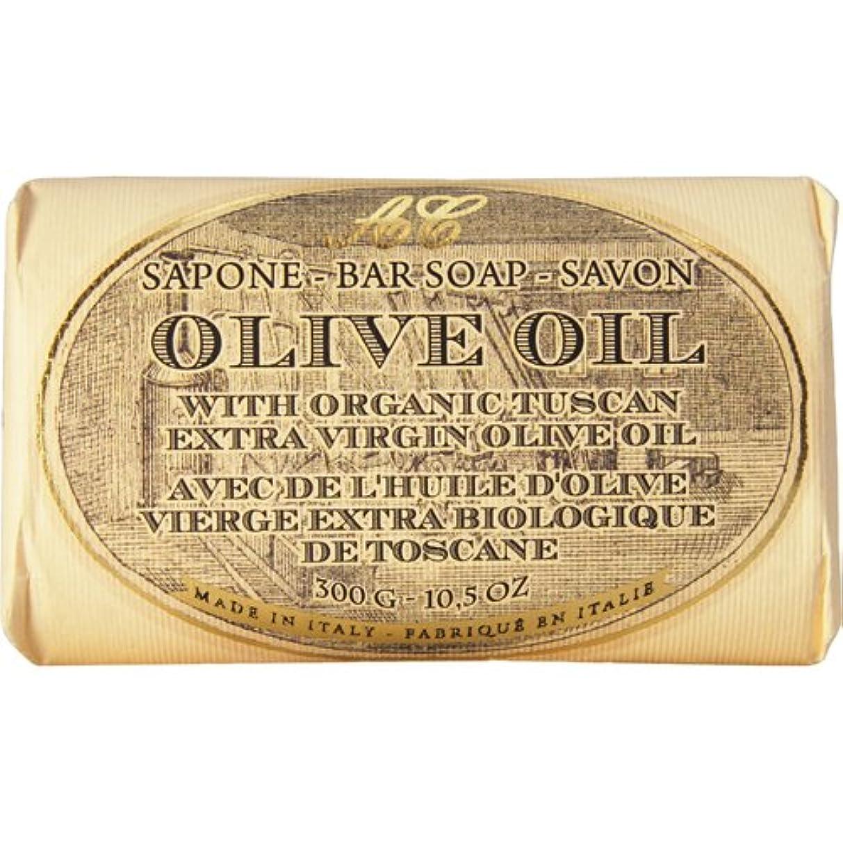 ガラススマート必要Saponerire Fissi レトロシリーズ Bar Soap バーソープ 300g Olive Oil オリーブオイル