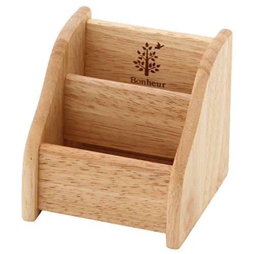 不二貿易 木製リモコンスタンド ボヌール ナチュラル 22652