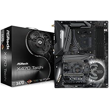 ASRock AMD X470チップセット搭載 ATXマザーボード X470 TAICHI