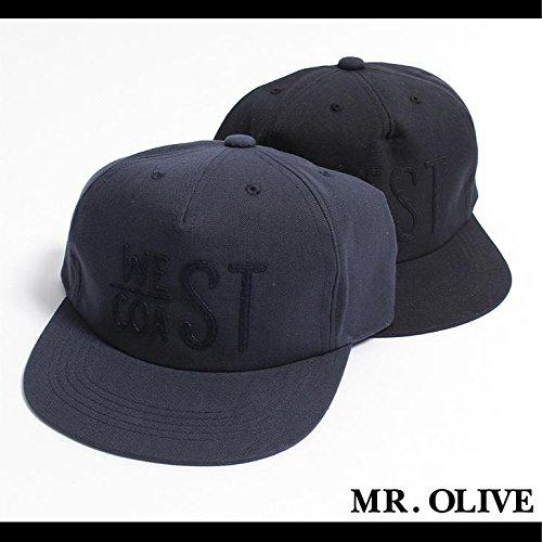 【MROLIVE(ミスターオリーブ)】ヴィンテージコットンツイル/ウェストコーストキャップ Mサイズネイビー