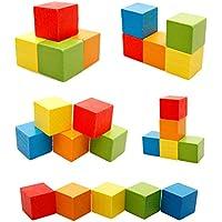 知育玩具 モンテッソーリ 形合わせ 積み木 はめこみ 組み立て Broadroot (#08)
