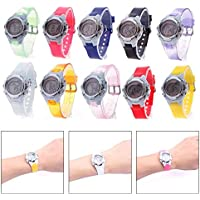 Niome Multifunctional Light Digital Waterproof Wristwatch Kid Child Gift