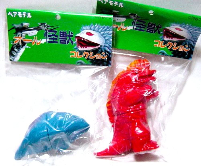 ベアモデル オール怪獣コレクション ミニサイズ 二次元怪獣 ガヴァドンA&B