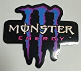 モンスターエナジー MONSTER ENERGY ステッカー Sticker ブルー BLUE TSS-3N