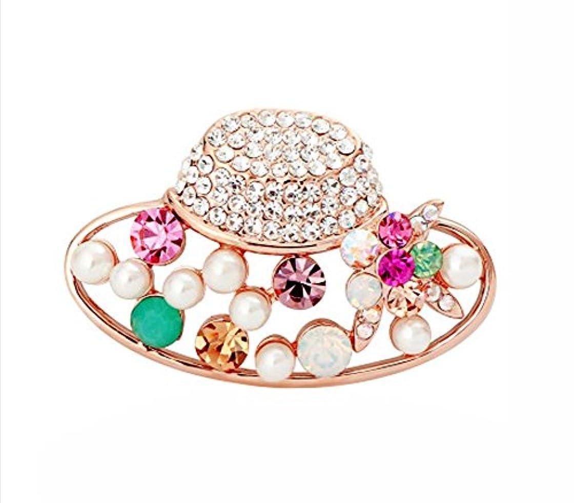 情緒的配当添加ブローチコサージュピン/バッジシャツ女性用アクセサリー、帽子