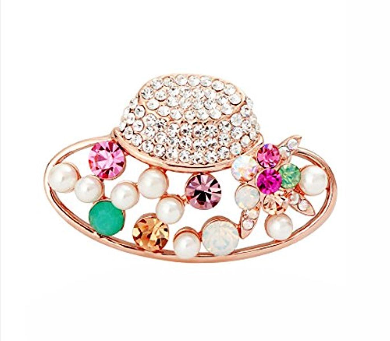 ブローチコサージュピン/バッジシャツ女性用アクセサリー、帽子