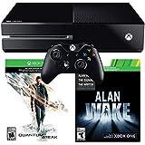 XBOX One 500GB Core Console Black W/Quantum Break & Alan Wake - Xbox One
