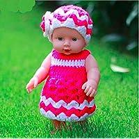 Miss。AJ 12インチベビーキッズRebornベビー人形ソフトSiliconeビニールLifelikeサウンドLaugh Cry新生児赤ちゃんおもちゃ男の子女の子誕生日ギフト