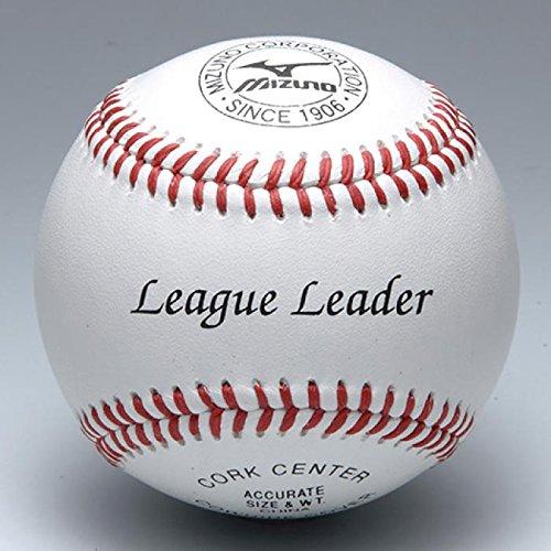 ミズノ (MIZUNO) 野球 硬式用/リーグリーダー 高校練習球 1BJBH11400