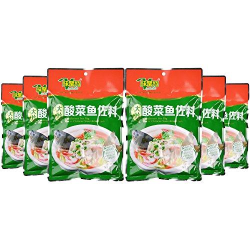 大片酸菜魚佐料(酸菜入り鍋の素セット) 300g×6個