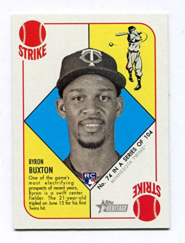 Byron Buxton - 2015 Topps Heritage '51 Collection #74 - RC ルーキーカード