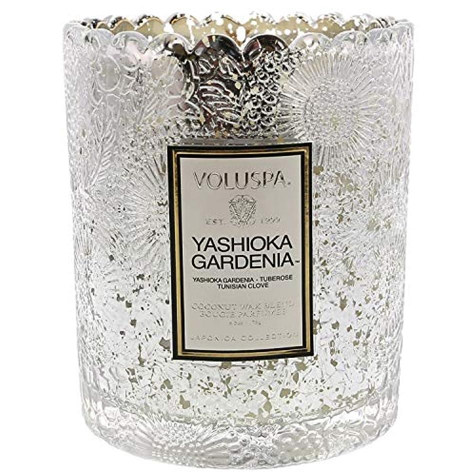 無効道法律Voluspa ボルスパ ジャポニカ リミテッド スカラップグラスキャンドル  ヤシオカガーデニア YASHIOKA GARDENIA JAPONICA Limited SCALLOPED EDGE Glass Candle