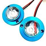 フラッシュ LED スポットライト ストロボライト (ブルー)