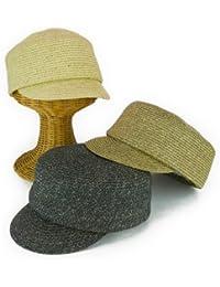 ノーブランド品 MIXブレードキャスケット レディース帽子
