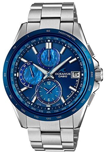 [カシオ]CASIO 腕時計 オシアナス クラシックライン 電波ソーラー OCEAN BLUE OCW-T2610F-2AJF メンズ