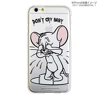 カスタムカバー iPhone 6s/6 トムとジェリー(ジェリー泣き顔)