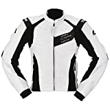 RSタイチ(アールエスタイチ)バイクジャケット ホワイト (EUR 52) 826ベンテッドレザージャケット RSJ826