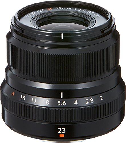 富士フイルム 単焦点広角レンズ XF23mmF2 R WR B ブラック B01KZ4XBA6 1枚目