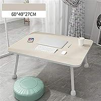 デコレーション家具 リフトラップトップテーブル大型多機能パソコンデスク塗装脚ラップトップデスクベッド折りたたみベッド・コンピュータデスク (色 : M1, サイズ : Free)