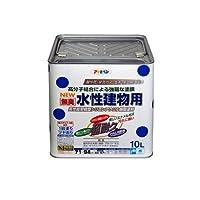 アサヒペン NEW水性建物用 こげ茶10L 【まとめ買い3缶セット】