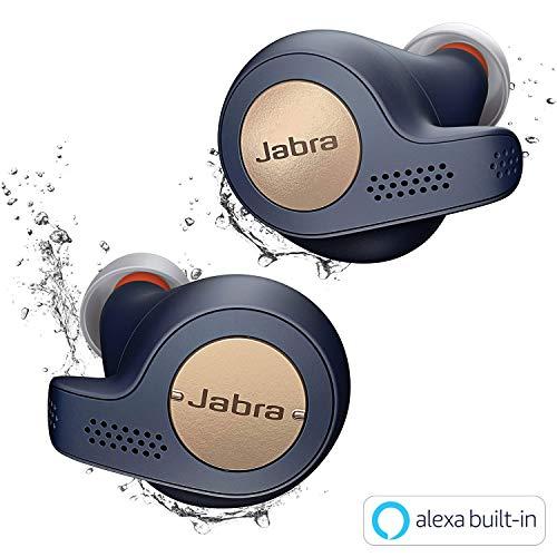 Jabra 完全ワイヤレスイヤホン Elite Active 65t コッパ...