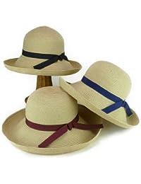 ノーブランド品 洗えるポリブレードセーラー レディース帽子